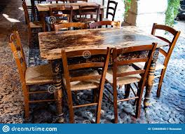 Old Wooden Chairs And Table In A Quiet Restaurant Stock ... Designer Fniture Italian Interior Design Cappellini Billiani Chairs And Fniture A Little Italy Tiny Restaurant Thats Too Good To Be A Secret Rome View Of An Outdoor Tables Home Artisan Bellevue Very Wood Chair Makers The 100 Best Restaurants In Paris Restaurants Time Out Zin Eclectic Modern Industrial Style Melfis New Charleston Sc Restaurant Table Wikipedia Sunperry Fniture Project For Choice