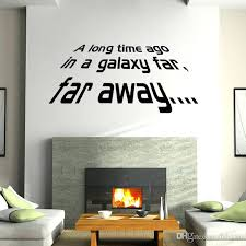 Star Wars Bedroom Decals Star Wars Wall Letters Inches Home Decor