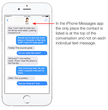 How to Save Print iPhone Text Messages with the Name and Contact