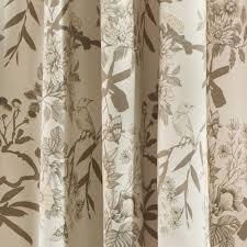 Lush Decor Window Curtains by Amazon Com Lush Decor Botanical Garden Window Panel Set 84