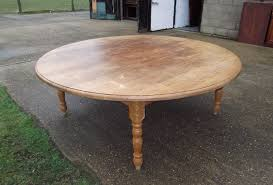 Home And Furniture Amazing Large Round Table On 8 10 12 14 Seater Hoop Base