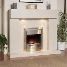Stone Suite Katell Durban Electric Fireplace Suite Best Deals Online
