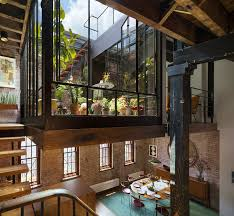 Old Tribeca Soap Factory Transformed Into Loft   Lofts, Architects ... Capvating Industrial Loft Apartment Exterior Images Design Sexy Converted Warehouse In Ldon Goes Heavy Metal Curbed 25 Apartments We Love Fresh Awesome The Room Ideas Renovation Sophisticated Nyc Best Inspiration Old Becomes Fxible Milk Factory College Station Tx A 1887 North Melbourne Shockblast Large Modern Used Interior Lofts It Was 90 A Night Inclusive Of Everything And Surry Hills Darlinghurst Nsw Rentbyowner Mod Sims Corrington Mill