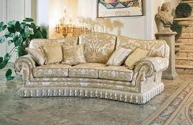 halbrunden sofa klassischen luxus stil idfdesign