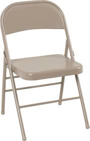 Cosco Products | Cosco All Steel Folding Chair Antique Linen