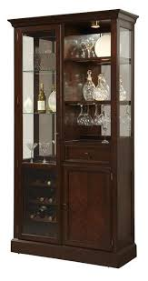 pulaski furniture curios curio wine cabinet w led lighting