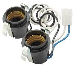 Nutone Bathroom Fan Replace Light Bulb by Amazon Com Broan Sr111630 Lamp Socket Assembly Home U0026 Kitchen