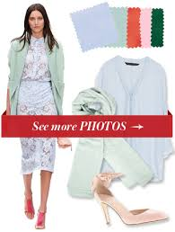 Ice Baby Here Are 4 Fabulous Color Combinations To Wear With This Frosty Shade Of Blue