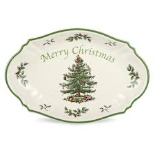 Spode Christmas Tree Mugs With Spoons by Spode Christmas Tree Merry Christmas Tray Spode Uk