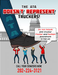 Denham Amendment Against Truckers Slipped In The 2018 FAA ... Ata Tmaf Promoting Truck Driver Appreciation Week Bulk Transporter Horvath To Succeed Cammisa As Atas Vp Of Safety Policy Tonnage Index Fell 14 In June Scaletipping 44000 Hp Motor Returns Aedc Arnold Air Force Up 19 July 2016 Membership Miltones Arizona Trucking Association American Associations Supports Trumps Tax Reform Home Facebook Digital Innovation For The Industry With Platforms Launches Focus Drive Stay Alive Iniative Benefits And Salaries Rising Cargotrans Driver Shortage Analysis 2017