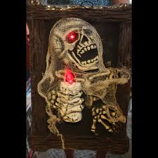 Halloween Coffin Prop by Bloody Horror Morgue Wall Gore Decor Halloween Prop Haunted House