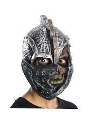 Fiber Optic Pumpkin Head Scarecrow by Zombie Mask