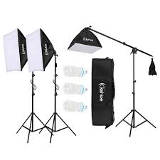 100 Studio Tent Details About Kshioe Photography Portrait Video Light Lighting Kit Photo Equipment