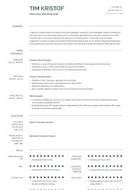 Freelance Web Developer - Resume Samples & Templates   VisualCV Web Developer Resume Examples Unique Sample Freelance Lovely Designer Best Pdf Valid Website Cv Template 68317 Example Emphasis 2 Expanded Basic Format For Profile Stock Cover Letter Frontend Samples Velvet Jobs