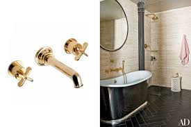 Unlacquered Brass Bathroom Faucet by Home Decor Ideas The Best Bathroom Fittings Photos