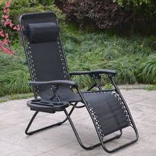 Sonoma Anti Gravity Chair Oversized by Zero Gravity Chairs Case Of 2 Black Lounge Patio Chairs Outdoor
