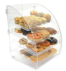 Euro Coffee Shop Display Case For Baked Goods
