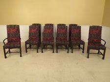 LF38516 Set Of 10 JOHN WIDDICOMB Mid Century Modern Dining Room Chairs