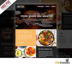 newsletter cuisine food and restaurant e newsletters free psd template psdfreebies com