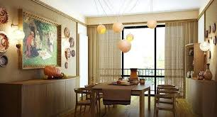Curtains For Dining Room Bay Window Curtain Ideas