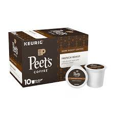 Peets Coffee French Roast 60 K Cup Pods