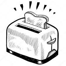 1024x1024 Retro Toaster Sketch Stock Vector C Lhfgraphics