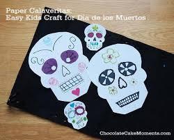 Easy Sugar Skull Day Of by Day Of The Dead Dia De Los Muertos Paper Calaveritas Easy Kids