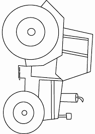 Dessin Animes Tracteur 45 Luxe Coloriage Tracteur Ferme Coloriage