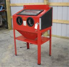 Central Pneumatic Blast Cabinet Manual by January 12th Spencer Sales Downing Wi Online Equip Auction In