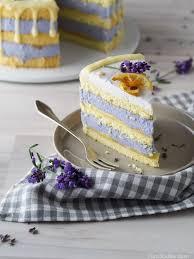 hüllenlos oder zitronen lavendel torte mit weißer schokolade