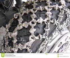 100 Truck Tire Chains Snow On Truck Stock Photo Image Of Drive Service 12425998