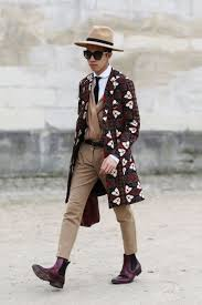 Menswear Gets A 70s Makeover On The Streets Of PFW AW15 WGSN Street