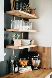 küchenoberschränke und regale für minimalistische