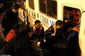 Tug Boat Sinks by Tug Boat Overturns In Yangtze River Killing 22 Daily Mail Online