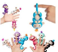 The 2017 Latest Popular Smart Interactive Fingerlings Monkey For Toys