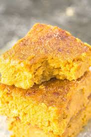 Paleo Pumpkin Custard Microwave by Healthy Flourless Pumpkin Gingerbread Blondies Paleo Vegan