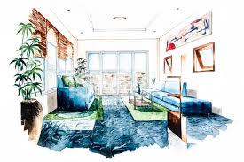 wohnzimmer design aquarell stockfotos freeimages