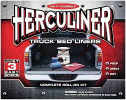 tips for installing a herculiner bed liner yourself