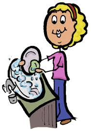 Washing Dishes Free Clipart 1