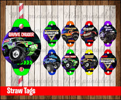 80% OFF SALE Monster Jam Straw Tags Instant Download - Printable 80 Off Sale Monster Jam Straw Tags Instant Download Printable Amazoncom 36 Pack Toy Trucks Pull Back And Push Friction Jam Sticker Sheets 4 Birthdayexpresscom 3d Dinner Plates 25 Images Of Template For Cupcake Toppers Monsters Infovianet Personalised Blaze And The Monster Machines 75 6 X 2 Round Truck Edible Cake Topper Frosting 14 Sheet Pieces Birthday Party Criolla Brithday Wedding Printables Inofations For Your Design Pin The Tire On Party Game Instant