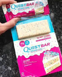 Happy Birthday From Quest New Cake Bars Release Next Week But You