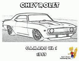 Muscle Car Coloring Pages Macho Printables Free Hot Rod Pictures