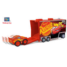 Cars 3 Remote Control Mack Hauler And Lightning McQueen Buddy Pack ...