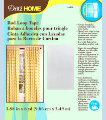 Sewing Curtains For Traverse Rods by Rod Tab Header Tape 3 7 8 In 6yds Pkg Joann