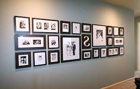 Black And White Wall Picture Frames For Bedroom Decorating
