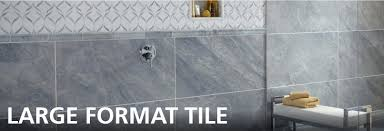 large format tile floor decor