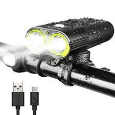 Amazon INTEY Bike Light LED Bicycle Lights USB Rechargeable