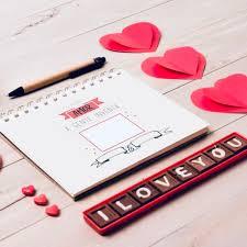 Caderno Declaração De Amor Dia Dos Namorados
