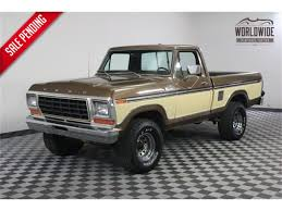 100 79 Ford Truck For Sale 19 F150 For ClassicCarscom CC974001