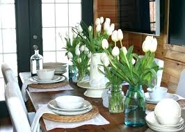 Vases For Dining Room Tables Table
